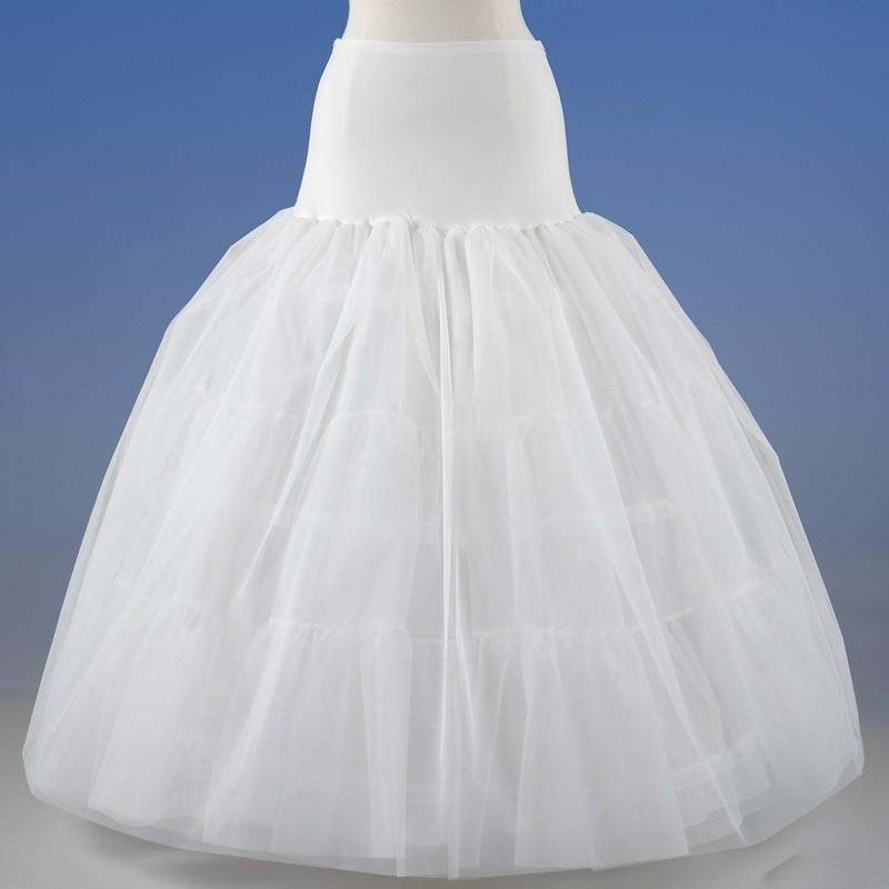 can-can nupcial para vestidos de novia de corte princesa 2018