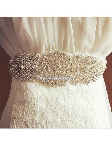 Cinto vestido novia Tebas