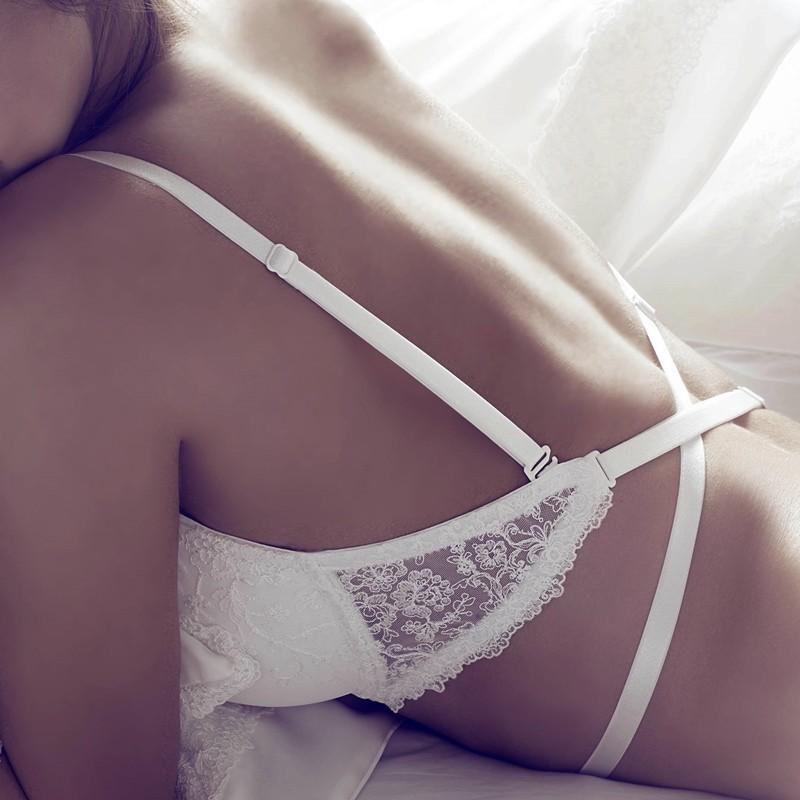 sujetador de novia para vestidos con la espalda al aire o descubierta