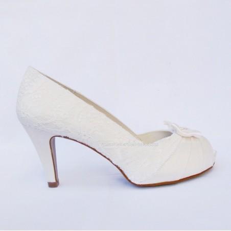 Zapatos de Novia lazo