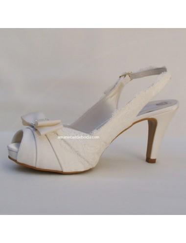 Zapatos novia Karina Lazo
