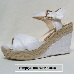 Cuñas Novia Pompeya Altas