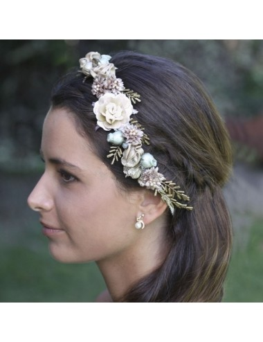 Cinta flores novias