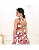 Vestido Fiesta Flor