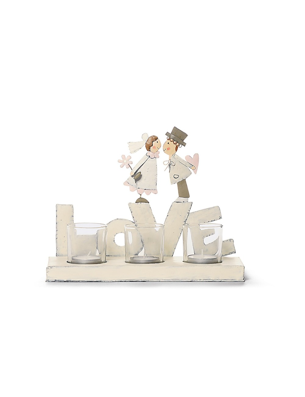 Novios tarta Love