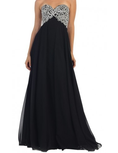 Vestido Fiesta Negro Marian