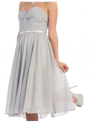 Vestido coctel boda Magda
