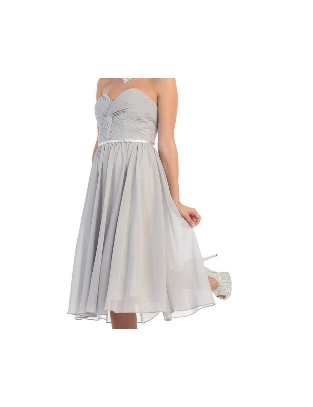 Vestido corto boda Magda