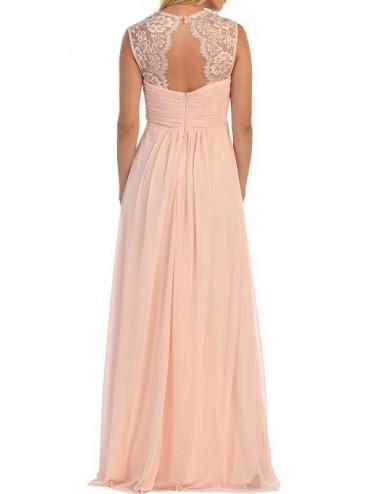 Vestido fiesta rosa Maika