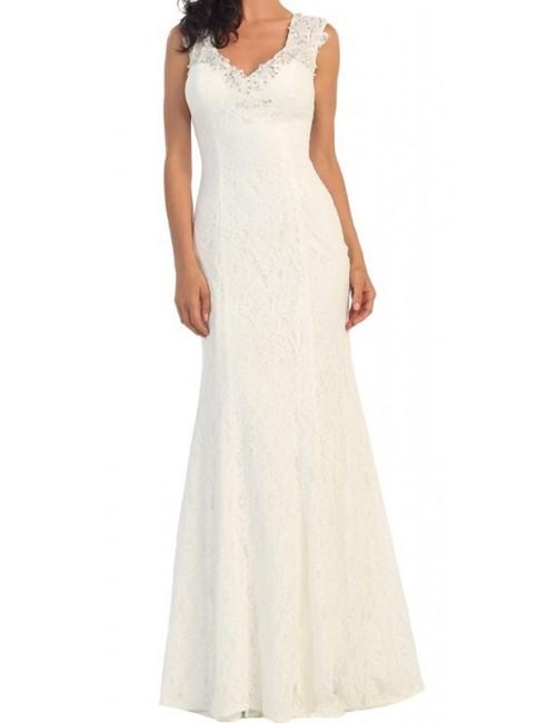 Vestido blanco boda Ofelia