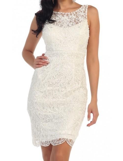 Vestido blanco boda Stella