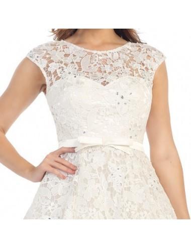 Vestidos boda cortos