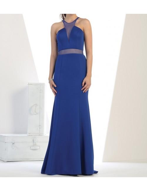 Vestido fiesta azul June