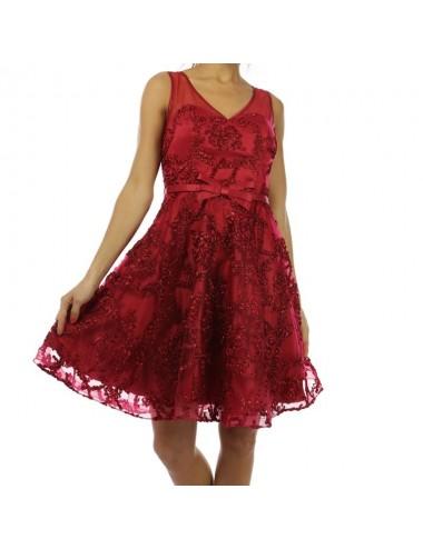 Vestido corto fiesta Arabela