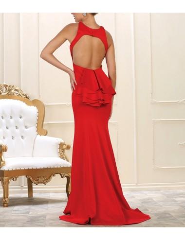 Vestido Fiesta Rojo Delia