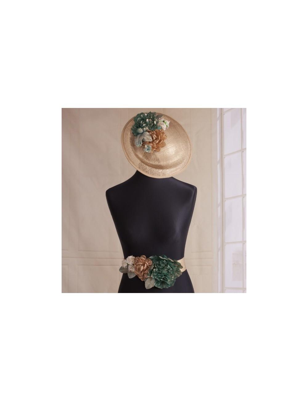 Cinturón flores Gianna