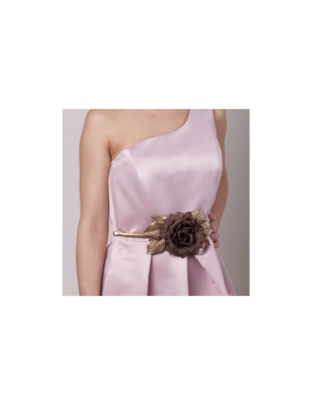 Cinturones fiesta flores
