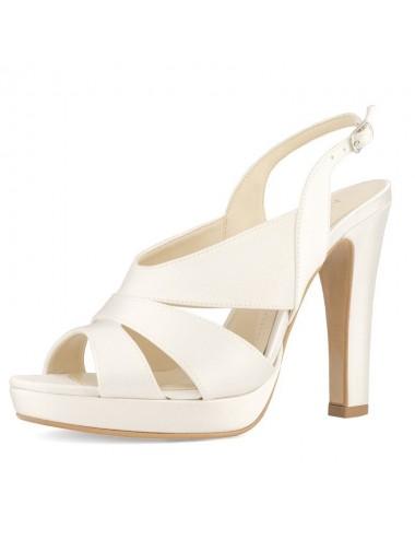 Zapatos de Novia tacones anchos
