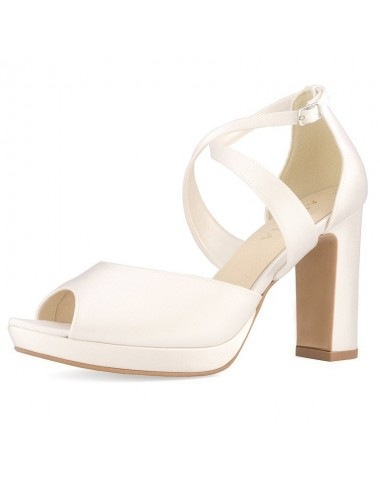 Zapatos de Novia tacón block