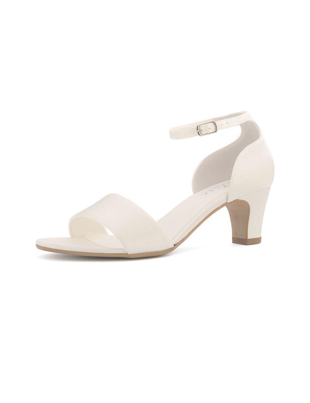 Zapatos de novia bajos y comodos