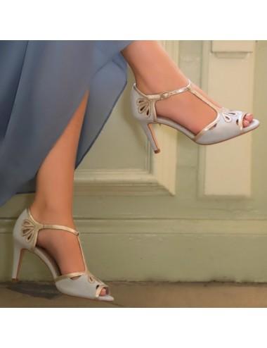 Zapatos Novia Esme Ante