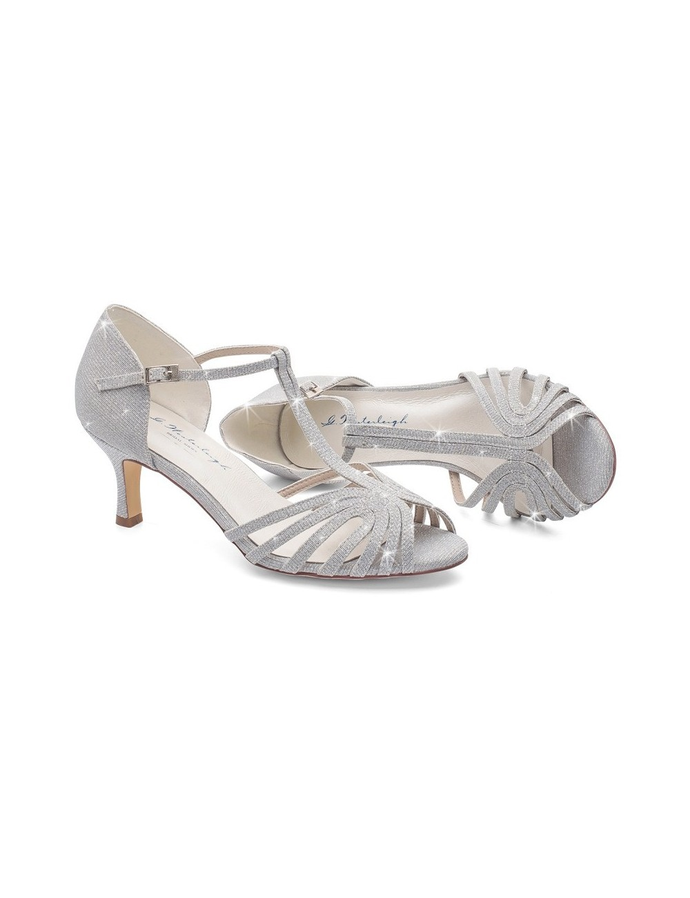 Zapatos Novia color plata