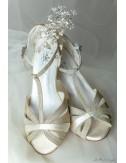 Zapatos Novia Corinne Dorados