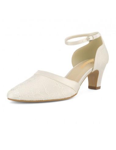 Zapatos Novia Tacón bajo