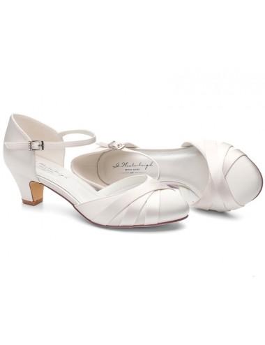 Zapatos Novia tacón ancho 5cm