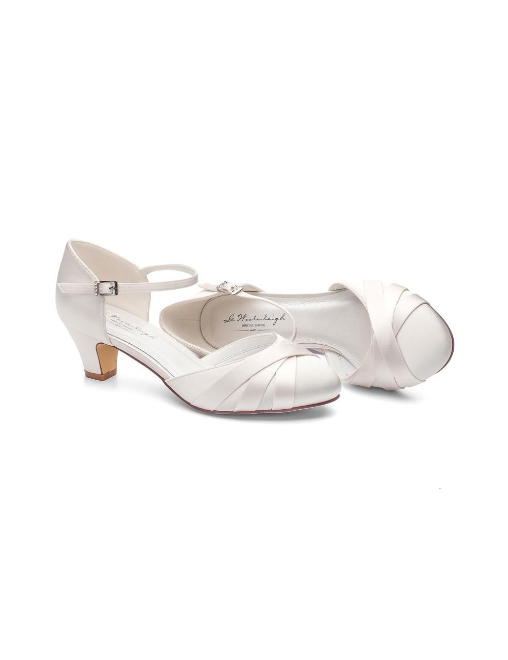 Zapatos Novia Blanca