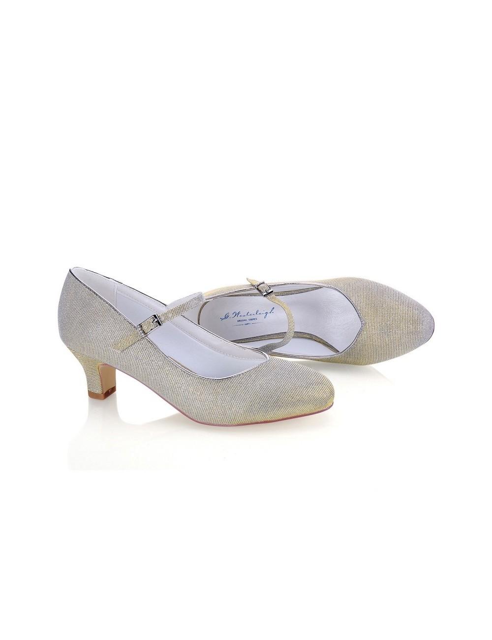 Zapatos Novia Marietta Oro