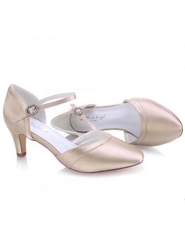 Zapato Novia beige