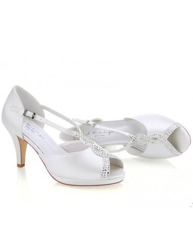 Zapato Novia Tacón Medio muy comodos