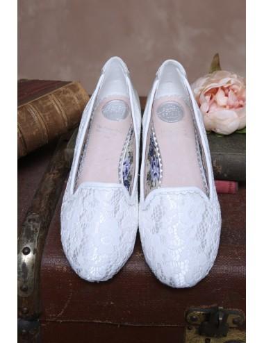 Zapato Plano Novia Alice