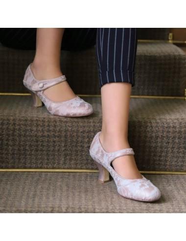 Sapatos Novia Esther Nude