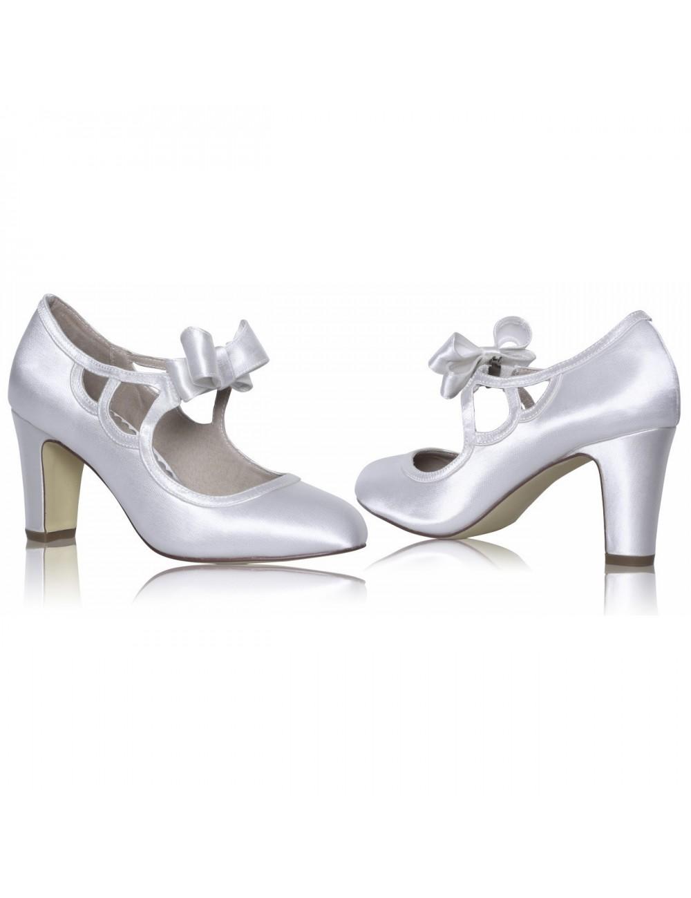 Zapatos Novia Mandy Satin
