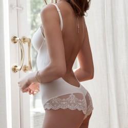 Body sin espalda novia Ivette