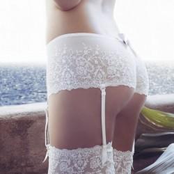 Culotte novia tul bordado