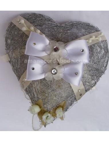 Corazón doble arra-anillos
