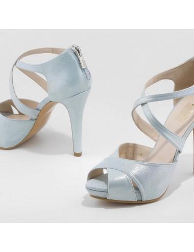 Zapatos Fiesta Celeste