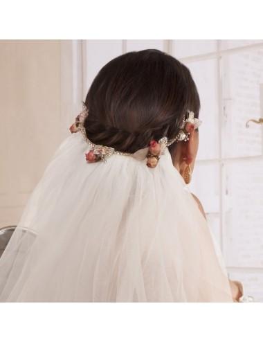 Cinta peinado novia