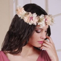 Corona Flor Preservada Lidia