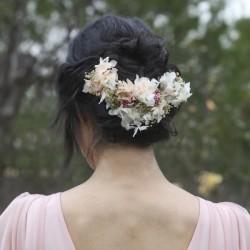 Tocado Flor Preservada Novia