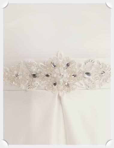 Cinto cristales vestido novia Argos
