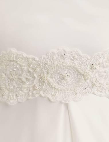 Cinto Pedreria vestido novia Arcadia