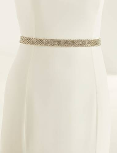 Cinto pedreria vestido de novia