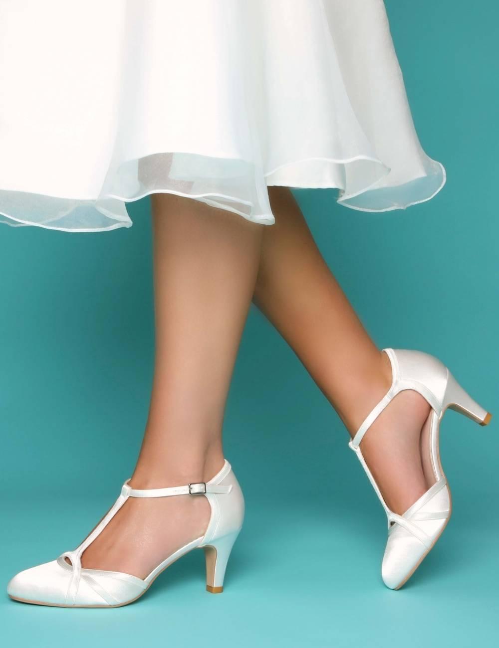 Zapatos Novia comodos poco tacón
