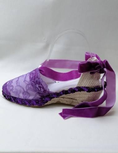Purple Espadrilles Violet