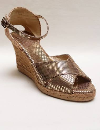 Gold Espadrilles Melly