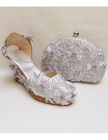 Espadrilles Women Silver